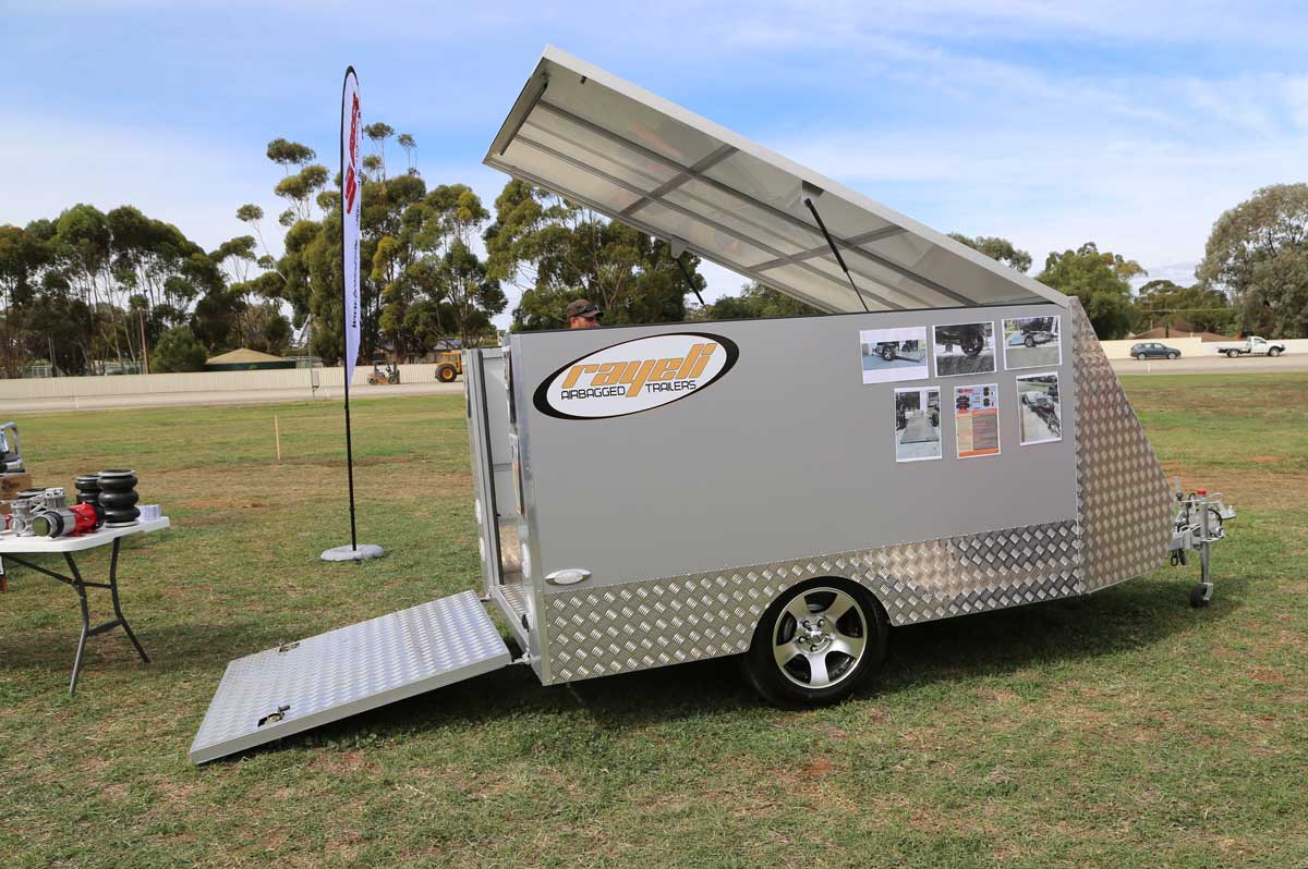 For Sale Used Enclosed Car Trailers